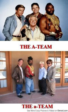 A-Team vs the a-Team