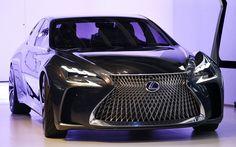 Lexus LF-FC Concept é proposta de sedã de luxo que antecipa próxima geração do LS
