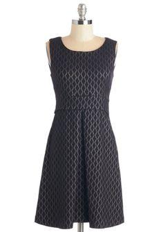 Closet LBD Mid-length Sleeveless A-line Soiree You Look Tonight Dress