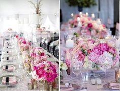 deco-table-rose-blanche-rose-fuschia