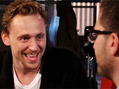 I love him. Click it to watch the video. MTV after hours with Josh Horowitz, guest staring Tom Hiddleston. LOKI'D!