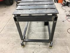 This could be the ultimate welding table. - The Garage Journal Board