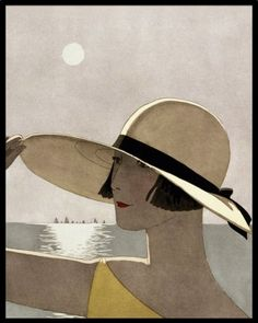 /1924  Sur La Digue   Jean Bernier