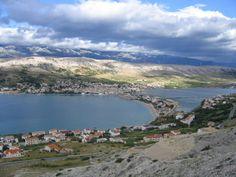 ile de Pag, croatia