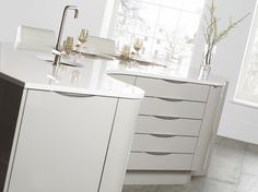 Burbidge's Otto Kitchen in Cashmere showing off it's Gloss