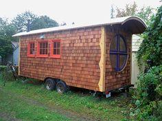 details zu sch ferwagen zirkuswagen wohnwagen waldkindergarten gartenhaus ferienhaus for. Black Bedroom Furniture Sets. Home Design Ideas