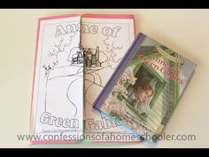 Anne of Green Gables Lapbook  http://www.youtube.com/watch?v=ydteLSpPhFA