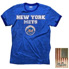 New York Mets Triblend Ringer T-Shirt - MLB.com Shop