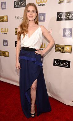Amy Adams on the Critics' Choice Awards Red Carpet!