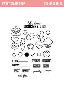 "Sweet Stamp Shop | ""Groceries"" Set Released 2015"