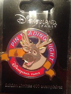 Sven Pin Trading Night Disney Trading Pins, Disney Pins, Disneyland Paris, Olaf, Disney Frozen, Pin Collection, Tinkerbell, Patches, Jewels