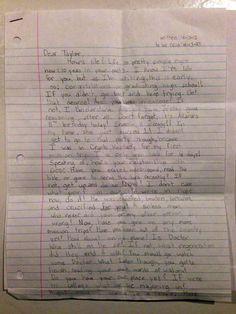 Après la mort de leur fille, des parents découvrent la lettre qu'elle avait écrite à son moi du futur en 2023…