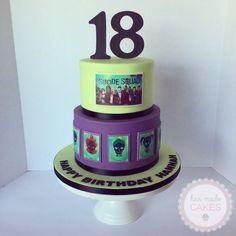 suicide squad cake beautiful design