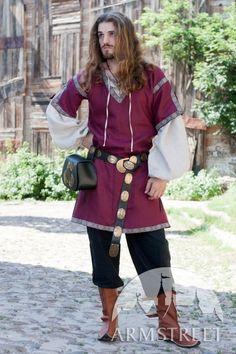 Mittelalter Tunika Mit Kurzen Ärmel