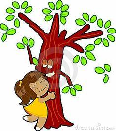Abrace uma árvore.