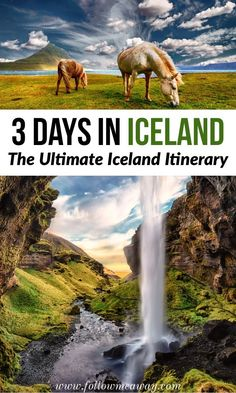 3 Days In Iceland: The Best Iceland Itinerary For Any Time Of Year | How to plan the perfect iceland itinerary in 3 days | iceland travel tips | travel to Iceland in 3 days | things to do in Iceland | Iceland itinerary in 3 days | best iceland itinerary #iceland