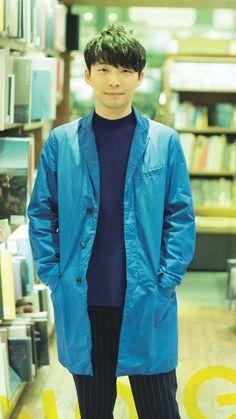 星野さんは長身ではないけど長丈アウター とても良くお似合いです。パンツ丈とか靴下色とかで調節してるからですかね。素敵。そして代官山蔦屋書店も素敵。本屋に行くと便意に襲われるアレってなんでしたかね。