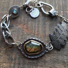 Modern Jewelry, Jewelry Art, Jewellery, Love Bracelets, Jewelry Bracelets, First Off, Silver Work, Labradorite, Love Her