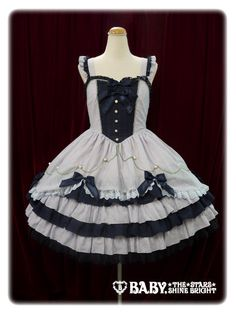 Baby, the Stars Shine Bright – Mon petit loulou Doll JSK « Lace Market: Lolita Fashion Sales and Auctions