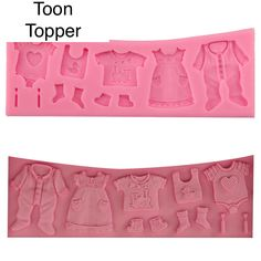 3D Baby Clothes Shower Silicone Moulds Fondant Kitchen Cake Molds for Chocolate Baking Tools Cake Topper Sugar craft Baby Shower Newborn by ToonTopper on Etsy