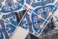 ADD FUEL & SAMINA mural in  Portugal, detail