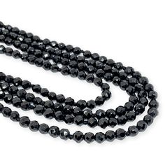 Natural black spinel necklace measure in length. Black Spinel, Lobster Clasp, Beaded Necklace, Jewels, Beads, Crystals, Natural, Bracelets, Products