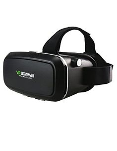 Sovawin VR Headset 3D Glasses Virtual Reality Helmet Box For Movies GamesSuitable For iPhone IOS 6s6 plus65s5c5 Samsung Galaxy s5s6note4note5 and Other 4760 Cellphones * Read more reviews of the product by visiting the link on the image.Note:It is affiliate link to Amazon.