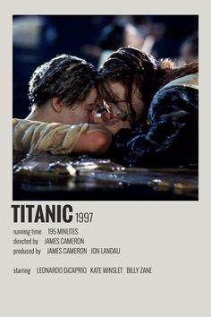 Alternative Minimalist Movie/Show Polaroid Poster - Titanic - celerity crushes - - Iconic Movie Posters, Minimal Movie Posters, Minimal Poster, Movie Poster Art, Iconic Movies, Poster Wall, Poster Series, Tv Series, Film Polaroid