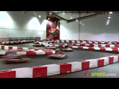 With 12 locations nationwide, K1 Speed is the perfect place to experience wheel-to-wheel racing in a clean, safe and fun indoor environment.