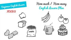 How Much / How Many ESL Lesson Plan (A1)