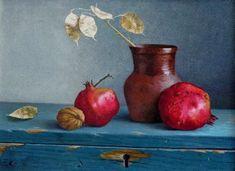 Pomegranate art By Marina Bogdanova