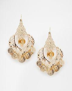 ALDO Krausman Disc Fili Drop Earrings