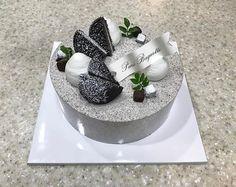 Paris Baguette, Cakes For Men, Oreo Cheesecake, Cake Art, Panna Cotta, Cake Decorating, Ethnic Recipes, Desserts, Business