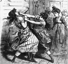 Female pugilism at Harry Hill's (Female SIngle Combat Club)