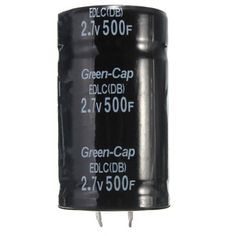 Clock Kit Temperature Light Control Version DIY 4 Digit LED Electronic. Black 2.7V 500F 35*60MM Super Farad Capacitor  Specification:  Model: 2.7V 500F Size: 35 x 60 (mm)  Applications:  Applies to: car Rectifier, can improve / stereo / speaker, extended battery life, balanced voltage, in series add fuse and wire can be used in parallel on the battery! Effect: more than 30 percent away, on the slopes and powerful, but also for solar energy For example: with 6 2.7v500f series can be made with…