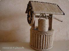 В последнее время меня вдохновляет шпагат.Давно хотела превратить бутылку в вазу, обдумывала разные варианты,пока не наткнулась на работу  Светланы130377 :   http://stranamasterov.ru/node/543060  Поняла - хочу такую же.Спасибо,Света,за идею. фото 5