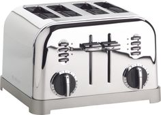 Cuisinart® Classic 4-Slice Toaster in Toasters | Crate and Barrel