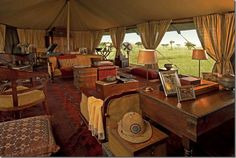 british safari (British Colonial) themed rv idea