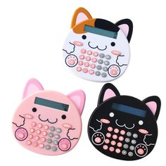 Maru Neko Club Calculators: http://www.todokawaii.com/noticias/calculadoras-maruneko-club/