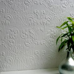paintable wallpaper
