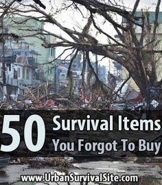 Items that even hardcore survivalists often overlook / Uran Survival Site