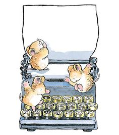 mice on Typewriter