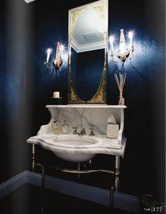 67 Cool Blue Bathroom Design Ideas | Interior Design