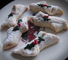 Yule Log Cookies