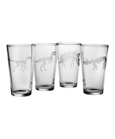 Take a look at this Jurassic Pint Glass Set on zulily today!