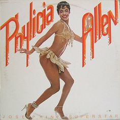 This awesomeness happened: Phylicia Allen (Rashad) released the album Josephine Superstar, a disco concept album telling the life story of Josephine Baker. Josephine Baker, Black Pin Up, Black Love, Black Art, Burlesque, Black Dancers, Phylicia Rashad, Vintage Black Glamour, Vintage Beauty
