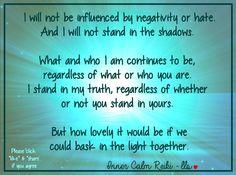 Good or bad, I stand in my truth. Blessings - Leslie <3 Inner Calm Reiki