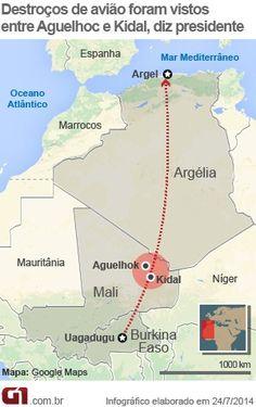 Presidente do Mali diz que destroços de avião foram vistos no norte do país. Aeronave da Air Algérie caiu na quinta (24), com 116 pessoas a bordo http://glo.bo/1pfkCAD