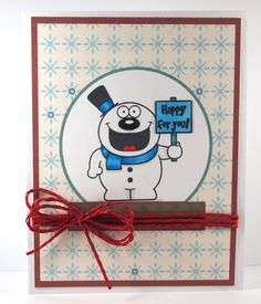 Snow Fun! by Leeann - YNS Sketch and Color Challenge 2 - More Inspiration - Your Next Stamp #yournextstamp