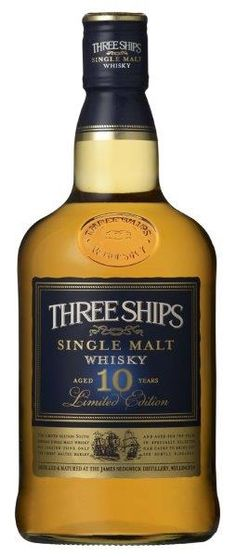Wow, congratulations guys! The Three Ships 10 Year Old Single Malt has become the first South African whisky to be awarded the Worldwide Whisky Trophy.